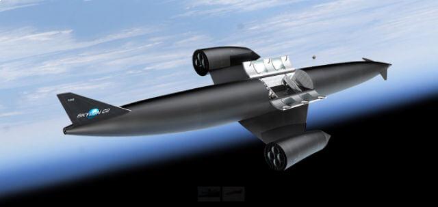 skylon aereo super veloce
