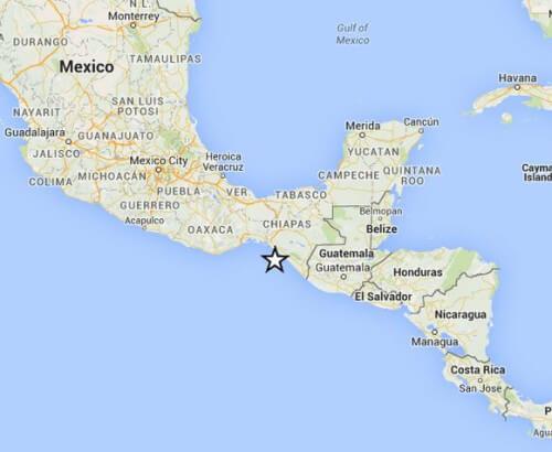 Tre scosse di terremoto oggi nel mondo, una in Messico e due a Nord della Nuova Zelanda