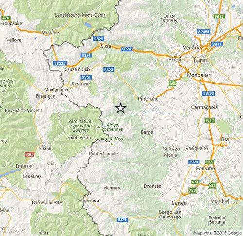 terremoto piemonte 10 settembre