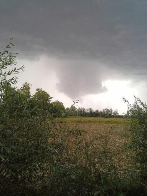 Tornado in Veneto oggi
