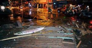 Tsunami in Cile