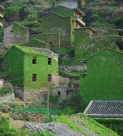 villaggio abbandonato in cina
