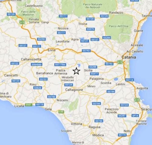 doppia scossa in sicilia