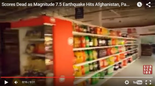 terremoto oggi afghanistan
