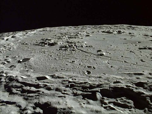 luna rocce molecole organiche