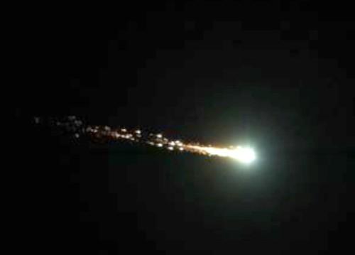meteorite nord italia 12 novembre