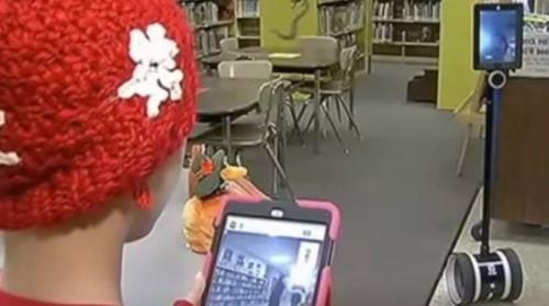 peyton robot scuola