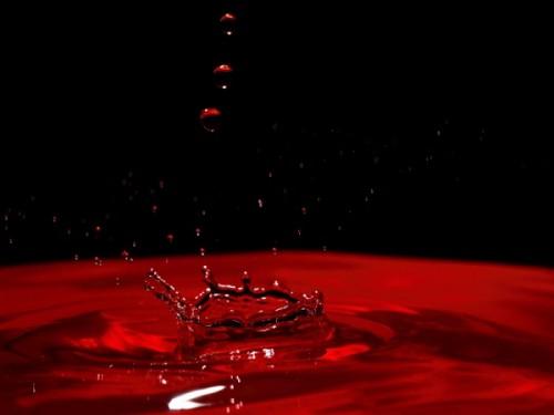 pioggia sangue