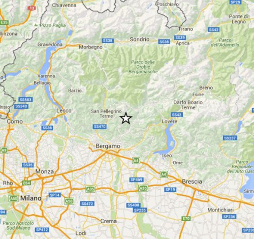 terremoto lombardia 28 novembre