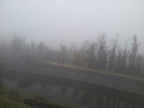 nebbia pianura padana +