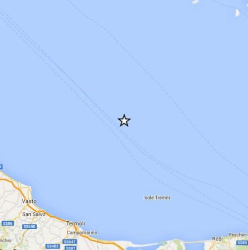 terremoto in adriatico oggi