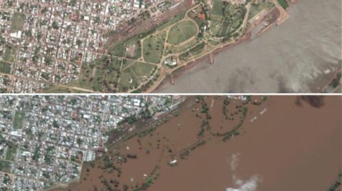 Alluvioni Sud America