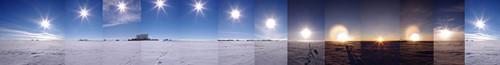 Sole in Antartide