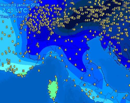 gelo nord 19 gennaio