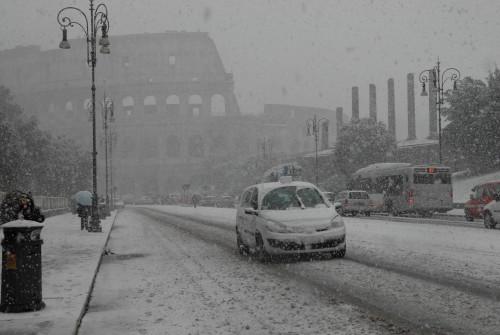 neva a Roma