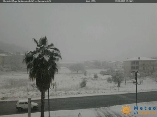 neve in Calabria