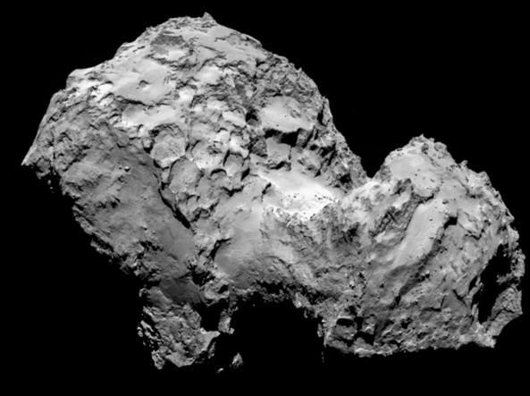 rosetta comete 67p acqua