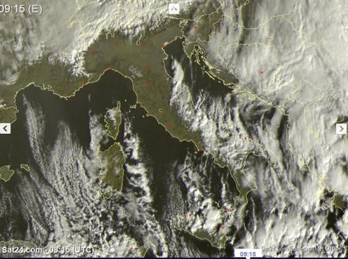 satellite 17 gennaio