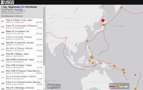 terremoto asia