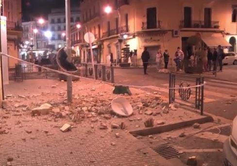 terremoto oggi Spagna