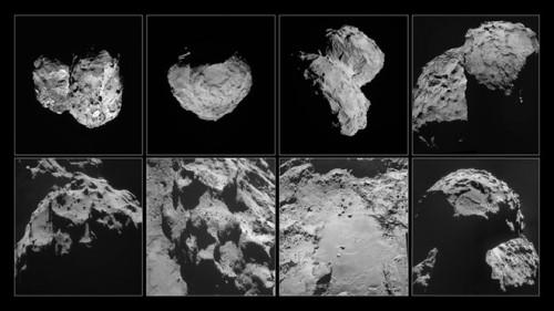 cometa 67P-Churyumov
