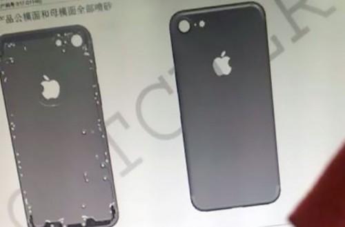 iPhone 7 news e rumors marzo 2016 nuove immagini della scocca posteriore
