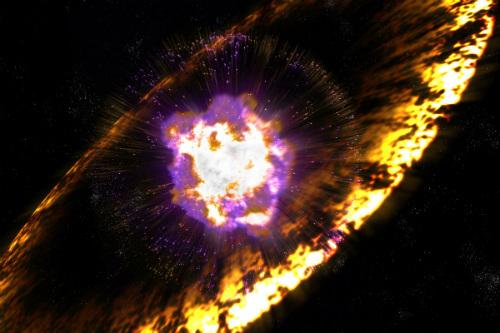 esplosioni supernove