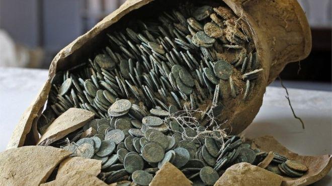 tesoro monete spagna