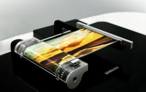 Samsung, display flessibile