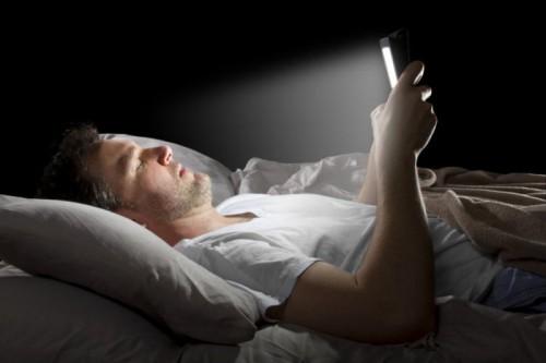 smartphone cecità temporanea