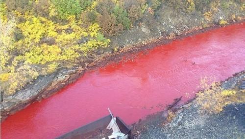 fiume rosso