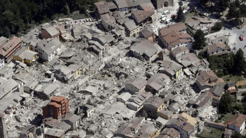 palazzo rosso terremoto