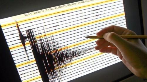 sismografo sciame sismico