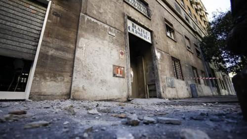 terremoto danni roma