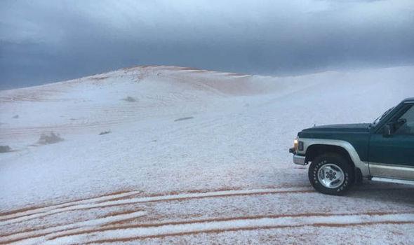 Arabia neve deserto